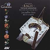 Bach: Five Violin Sonatas / Jacqueline Ross, David Ponsford