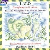 Lalo: Symphony in g, etc / Butt, Royal PO
