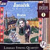 The Bohemians Vol 1 - Janacek: String Quartets / Lindsay