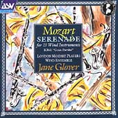 Mozart: Serenade for 13 Wind Instruments / Jane Glover
