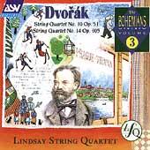 Dvorak: Quartets no 10 & 14 / Lindsay String Quartet