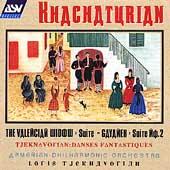 Khachaturian: The Valencian Widow Suite, etc. / Tjeknavorian