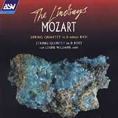 Mozart: String Quartet K.421, String Quintet K.593 / The Lindsays, Louise Williams(va)