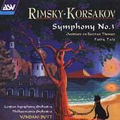 Rimsky-Korsakov: Symphony no 3, etc / Butt, London SO, et al