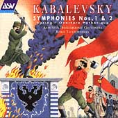 Kabalevsky: Symphonies No.1, No.2, Spring -Symphonic Poem, etc / Loris Tjeknavorian(cond), Armenian Philharmonic