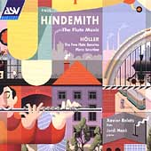 Hindemith, Hoeller: Flute Sonatas, etc / Relats, Maso