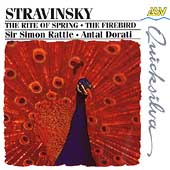 Stravinsky: The Rite of Spring, The Firebird /Rattle, Dorati