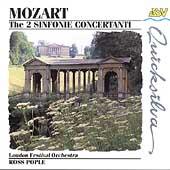 Mozart: 2 Sinfonie Concertanti / Ross Pople, London Festival