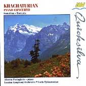 Khachaturian: Piano Concerto, etc / Portugheis, Tjeknavorian