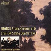 Franck and Bartok: String Quartets / Pro Arte Quartet