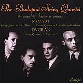 Mozart, Dvorak: String Quartets / Budapest String Quartet