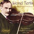 The Father of Modern Viola Playing - Lionel Tertis - J.S.Bach: Chaconne; Porpora: Air; Korngold: Hornpipe, etc