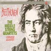 Beethoven: The Middle String Quartets / Vermeer Quartet