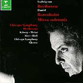 Beethoven: Missa Solemnis / Barenboim, Chicago SO & Chorus