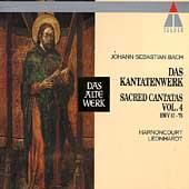 Bach: Sacred Cantatas Vol 4 / Harnoncourt, Leonhardt