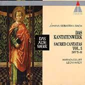 Bach: Sacred Cantatas Vol 5 / Harnoncourt, Leonhardt