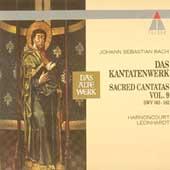 Bach: Sacred Cantatas Vol 9 / Harnoncourt, Leonhardt