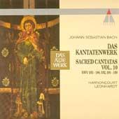 Bach: Sacred Cantatas Vol 10 / Harnoncourt, Leonhardt