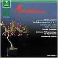 Mendelssohn: Violin Concertos Nr. 1 & 2 / Charlier, Foster