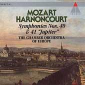 "Mozart: Symphonies 40 & 41 ""Jupiter"" / Harnoncourt"