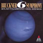 Bruckner: Symphony no 6 / Barenboim, Berliner Philharmoniker