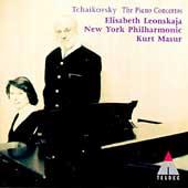 Tchaikovsky: The Piano Concertos / Leonskaja, Masur