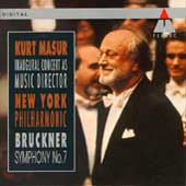 Bruckner: Symphony no 7 / Masur, New York Philharmonic