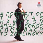 A Portrait of Thomas Hampson - From Bach to Zemlinsky