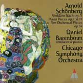 Schoenberg: Verklaerte Nacht, Piano Pieces, etc / Barenboim