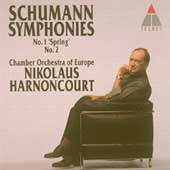 Schumann: Symphonies 1 & 2 / Harnoncourt, CO of Europe