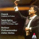 Franck: Symphony in D minor;  Saint-Saens / Mehta, Berlin PO