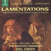 Lamentations / Cohen, Boston Camerata