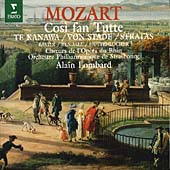 Mozart: Cosi fan Tutte / Lombard, Te Kanawa, Von Stade, Stratas et al