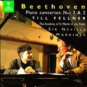 Beethoven: Piano Concertos Nos. 3 & 2 / Fellner, Marriner