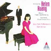 Mozart, Beethoven: Piano Concertos / Huang, Masur, New York