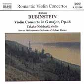 Rubinstein: Violin Concerto;  Cui / Nishizaki, Halasz, et al