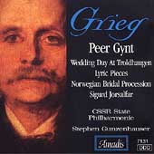 Grieg: Peer Gynt, Lyric Pieces, etc / Gunzenhauser, et al