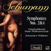 Schumann: Symphonies no 2 & 4 / Wildner, Czecho-Slovak PO