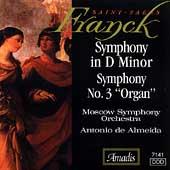 Franck, Saint-Saens: Symphonies / de Almeida, Moscow SO