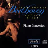 Tchaikovsky, Beethoven, Chopin, Liszt: Piano Concertos