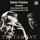 シューベルト: 4つの即興曲 D899&D935(録音: 1938年3月8&9日)/楽興の時 D780(全6曲)(録音: 1950年5月18日)