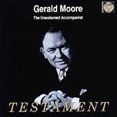 ジェラルド・ムーア「伴奏者の発言」