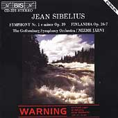 Sibelius: Symphony no 1, Finlandia / Jaervi, Gothenburg