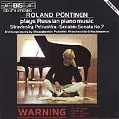 Russian Piano Music / Roland Poentinen