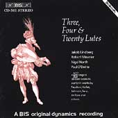 Three, Four & Twenty Lutes / Lindberg, Meunier, North, et al