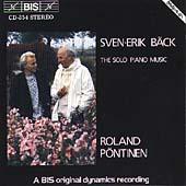 Sven-Erik Baeck: The Solo Piano Music / Roland Pontinen
