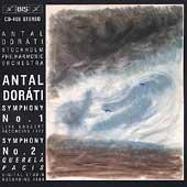 Dorati: Symphonies 1 & 2 / Dorati, Stockholm Philharmonic