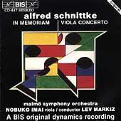 Schnittke: Viola Concerto, In Memoriam / Imai, Markiz