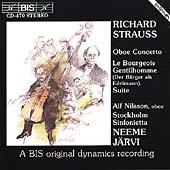 Strauss: Oboe Concerto, Le Bourgeois Gentilhomme / Jaervi