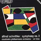 Schnittke: Symphony no 3 / Eri Klas, Stockholm PO